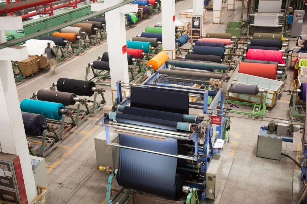 上半年纺织业增加值增速7.3% 供给侧效应初步显现